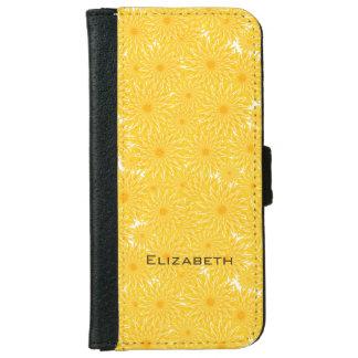 Meadow of dandelions iPhone 6/6s wallet case