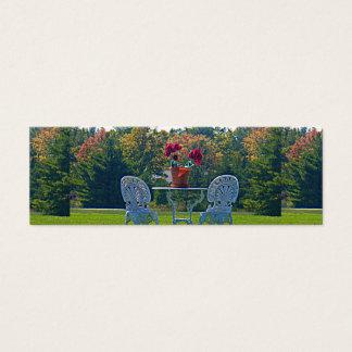 Meadow of Love Autumn Leaves Skinny Registry Card