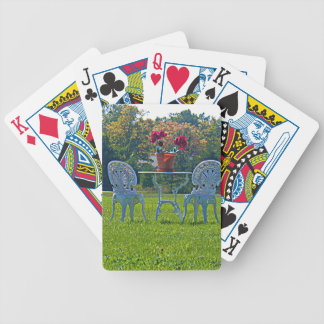 Meadow of Love Bicycle Playing Cards