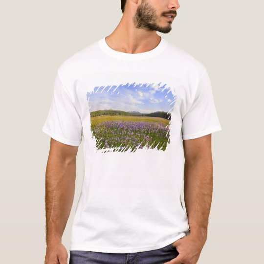 Meadow of penstemon wildflowers in the 2 T-Shirt