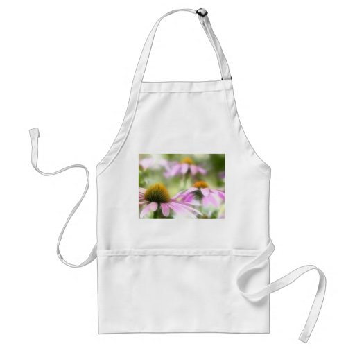 Meadow of Purple Coneflowers Aprons