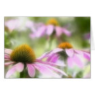 Meadow of Purple Coneflowers card