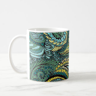 Meadow Paisley Coffee Mug