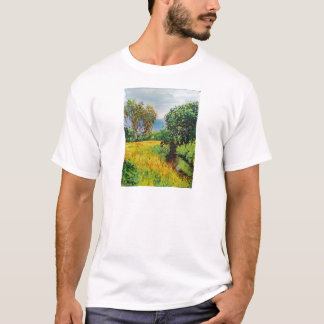 Meadow River Watercolor T-Shirt