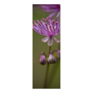 Meadow Rue Bookmark Business Card Template