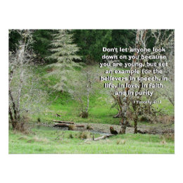 Meadow Stream Called by God Print
