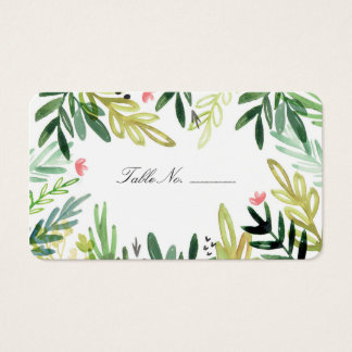 Meadow Table Place Card