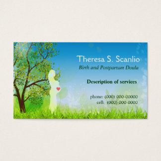 Meadow Walk Doula Midwife Business Card