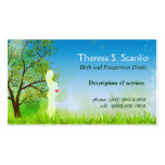Meadow Walk Doula Midwife Business Card Template