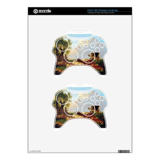 Meadow with cattle by Jacob van Strij Xbox 360 Controller Skins