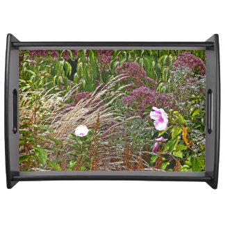 MEADOW WITH ORNAMENTAL GRASS/ VISUAL TEXTURE SERVING TRAY