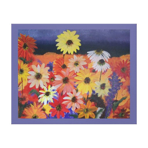 """""""Meadowland"""" Stretched Canvas Prints"""