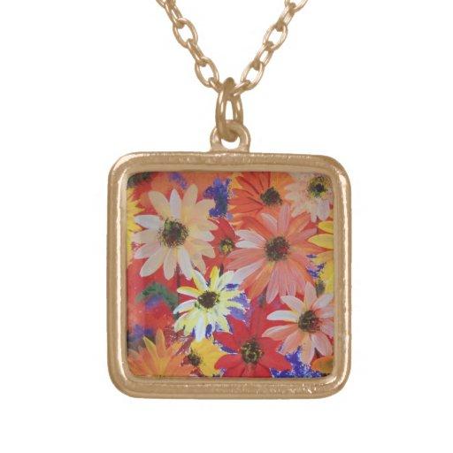 Meadowland necklace; RhubarbStreet