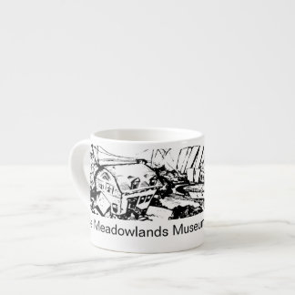 Meadowlands Museum Espresso Cup (Graphic & Text)