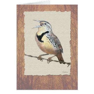 Meadowlark Card