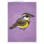 Meadowlark del este tarjetas
