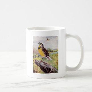 Meadowlark on a Branch Coffee Mug