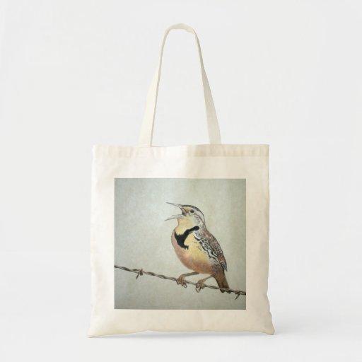 Meadowlark Tote Bag
