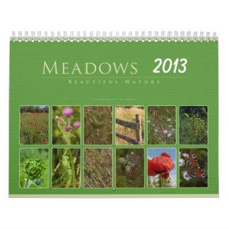 Meadows 2013: Beautiful Nature - Calendar