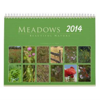 Meadows 2014: Beautiful Nature - Calendar