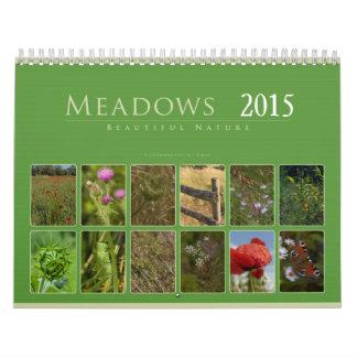 Meadows 2015: Beautiful Nature - Calendar