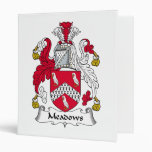 Meadows Family Crest Binders