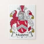 Meadows Family Crest Jigsaw Puzzles