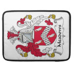 Meadows Family Crest Sleeves For MacBook Pro