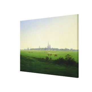 Meadows near Greifswald Canvas Print
