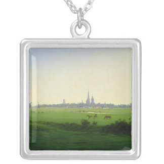Meadows near Greifswald Silver Plated Necklace