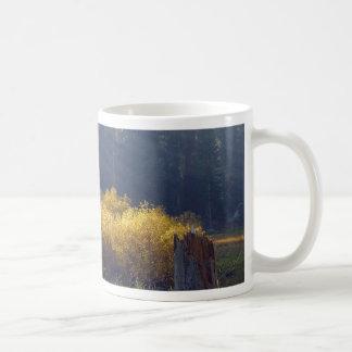 Meadows Smokey Classic White Coffee Mug