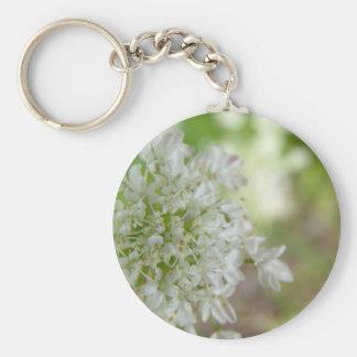 Meadowsweet Basic Round Button Keychain