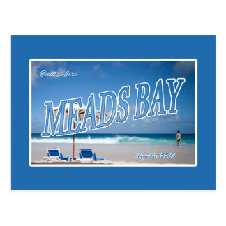Meads Bay, Anguilla Postcard
