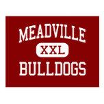 Meadville - Bulldogs - Area - Meadville Postcard