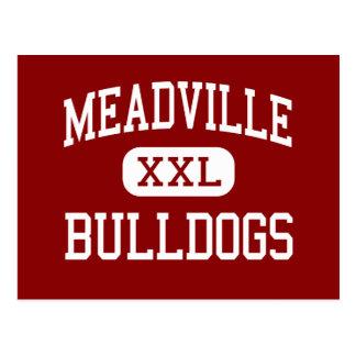 Meadville - dogos - área - Meadville Tarjeta Postal