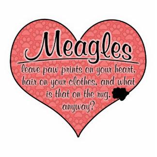 Meagle Paw Prints Dog Humor Cutout