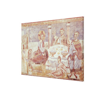 Meal at the House of Simon the Pharisee Canvas Print
