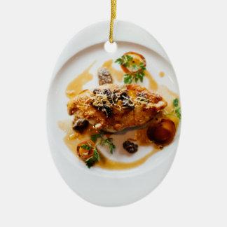 meal ceramic ornament