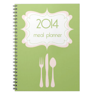 Meal Planner {2014} Notebook
