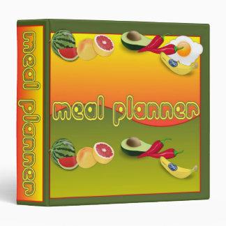Meal Planner 3 Ring Binder