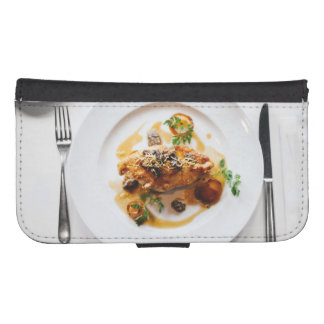 meal samsung s4 wallet case
