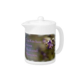 Meals and Memories Teapot teapot