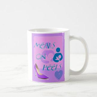 Meals on Heels! Breastfeeding Design Coffee Mug