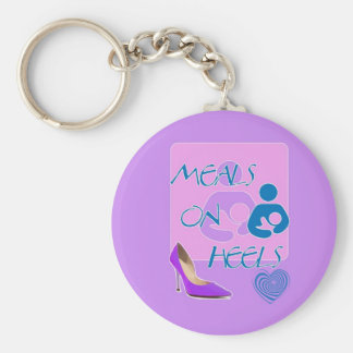 Meals on Heels! Breastfeeding Design Key Chains