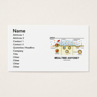 Mealtime Anyone? (Endocytosis) Business Card