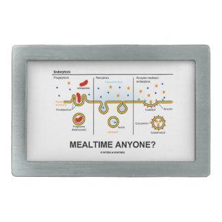 Mealtime Anyone? (Endocytosis Cellular Eating) Belt Buckle