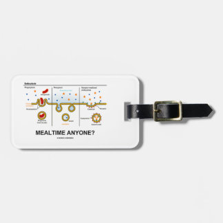 Mealtime Anyone? (Endocytosis Cellular Eating) Luggage Tag