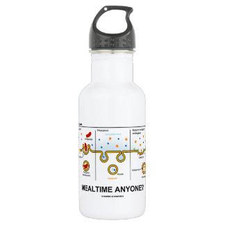Mealtime Anyone? (Endocytosis Cellular Eating) Water Bottle