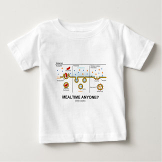 Mealtime Anyone? (Endocytosis Digestion Humor) Baby T-Shirt