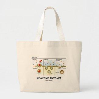 Mealtime Anyone? (Endocytosis Digestion Humor) Bags